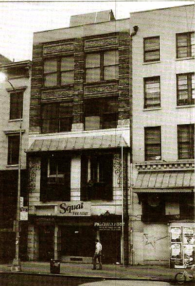 Squat Theatre in New York at  256 West 23rd Street