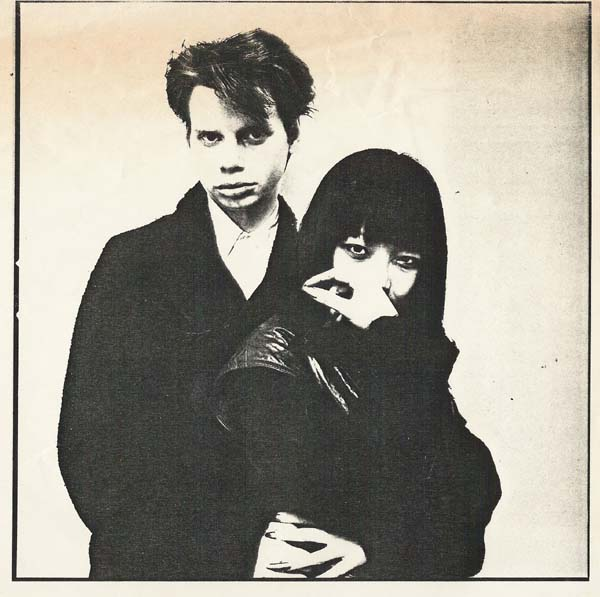 James & Anya Philips in 1980 publicity photo for the Ze record event