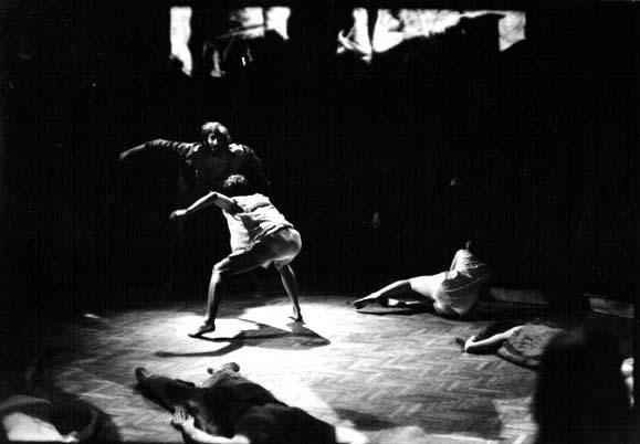Play in Kassak House, Budapest, 1971