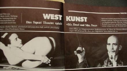 Mr. Dead & Mrs. Free - Squat Theatre (Koln, Germany)